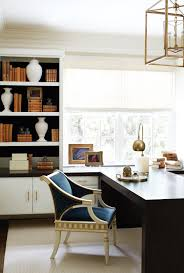 Partner Desks Home Office by This East Cobb House Is Pretty In Plum Atlanta Magazine