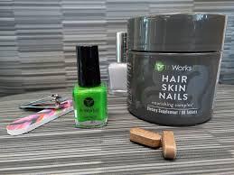 it works hair hair skin nails nourishing complex supplement