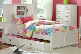 Girl Twin Bed Frame by Furniture Home Sleigh Full Size Captains Trundle Bed White