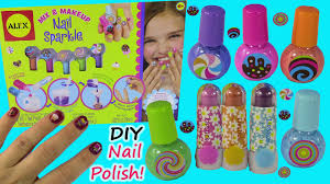 diy sparkle nail polish set make your own nail polish colors