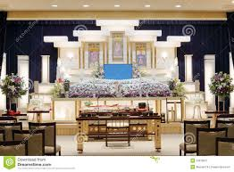 Funeral Home Interiors by Japanese Funeral Home Stock Photo Image 53378047