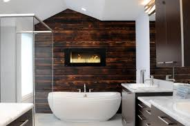 Brown Accent Wall by Comely Ideas For Wood Accent Wall Comes With Dark Brown Color Wood