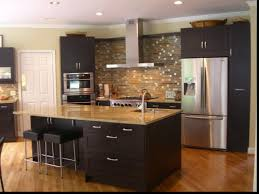 kitchen design magnificent one wall kitchen with island ideas