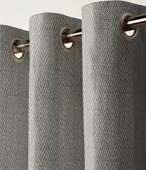 Grey Herringbone Curtains Curtain Herringbone Grey Next Made To Measure