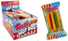 bulk lot 120 x trolli dog 2 boxes 10g gummy candy buffet