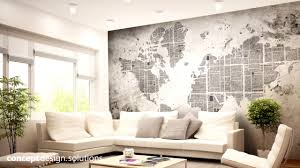 3 maps collection world map wallpaper concept design solutions