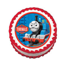 Train Edible Cake Image Topper