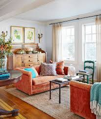 Living Room With Orange Sofa Burnt Orange Sofa Living Room Coma Frique Studio A86024d1776b