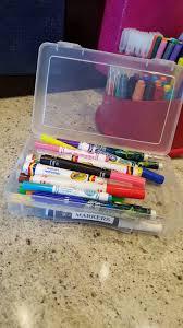 kids u0027 craft area organizing simple solutions organizing