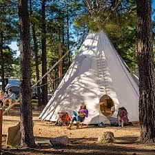 unique camping accommodations u2013 teepees airstreams yurts cabooses