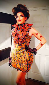 Monarch Butterfly Halloween Costume Butterfly Couture Capitol Couture Effie Trinket Mcqueen