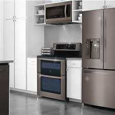 white kitchen cabinets and black stainless steel appliances black stainless steel appliances trend the future is here