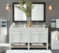 bathroom pottery barn style bathroom vanity innovative on bathroom