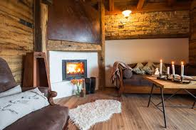 Trentino Outdoor Fireplace by Experience The Atmosphere Ledro Mountain Chalets Bezzecca