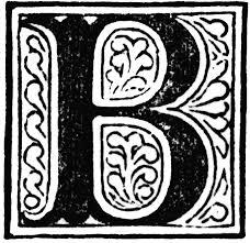 b letter clipart etc