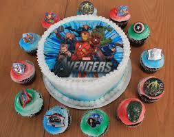 decoration cupcake anniversaire charmant decoration anniversaire adulte 5 avengers