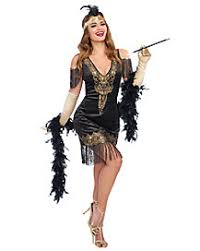 Woman Gangster Halloween Costumes Gangsters U0026 Flappers Group U0026 Couples Costumes Spirithalloween