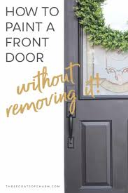 can you use an existing door for a barn door how to paint a front door without removing it three coats