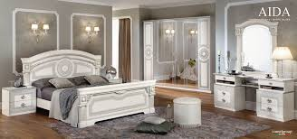 white on bedroomclassic bedroom bedrooms furniture aida white w silver camelgroup italy classic bedrooms bedroom
