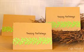 quick and easy handmade christmas cards