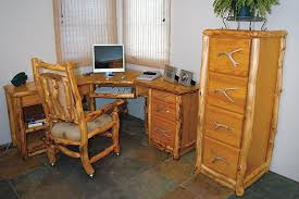 Pine Office Furniture by Office Furniture Colorado Log Furniture