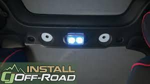 jeep wrangler map light replacement jeep jk wrangler interior dome light kit led 2 door 2007 2018