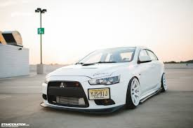 white mitsubishi lancer 2017 what evo fernando u0027s mitsubishi ralliart stancenation