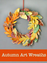 handmade country crafts for sale beautiful fall wreath