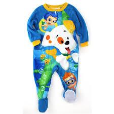 bubble guppies baby boys sleeper pajamas