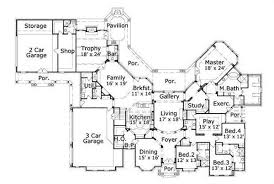 luxurious home plans project ideas 14 luxury 1 story floor plans blueprint quickview