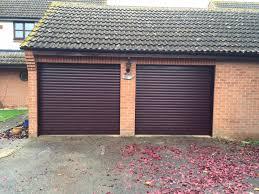 Security Garage Door by Rosewood Seceuroglide Roller Garage Doors In Thame Shutter Spec