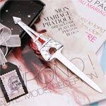 Letter Opener Favors Eiffel Tower Place Card Holders 4 Pcs Place Card Favors And