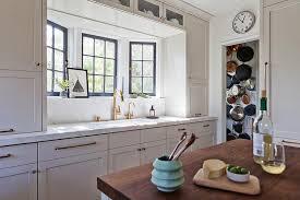 Kitchen Sink Size And Window Size by Kitchen Sink In Bay Window Transitional Kitchen