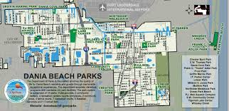 Map Of Ft Lauderdale Dania Beach Marina City Of Dania Beach Florida Official Web Site