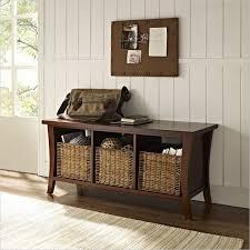 Modern Entryway Table Modern Entry Way Storage Bench Reclaimed Barn Wood Furniture