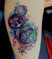 3d Compass Tattoos Pin By Westfall On I Would Wear That
