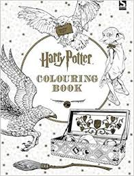 harry potter colouring book 1 amazon uk warner brothers