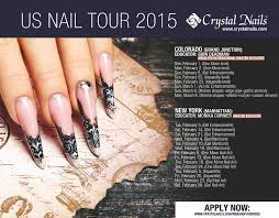 crystal nails us nail tour 2015