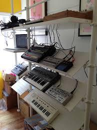 Ikea Audio Rack Ikea Stolmen Synth Rack Studio Studio Music Studios And Drums
