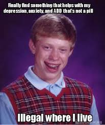 Bad News Brian Meme - meme creator bad luck brian meme generator at memecreator org