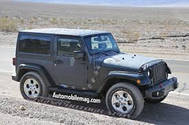 jeep wrangler grey jeep wrangler mule testing possible hurricane turbo four