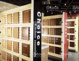kitchen cabinet doors showroom interior stock photo 157606307 istock
