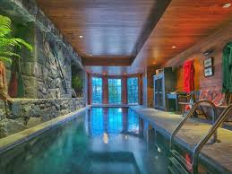 Indoor Pool Design 45 Screened In Covered And Indoor Pool Designs Wood Paneling
