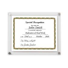certificate frame a4 certificate wall frame various colours get acrylic photo frames
