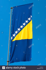 Flag Of Bosnia Flag Republic Bosnia Herzegovina Stockfotos U0026 Flag Republic Bosnia