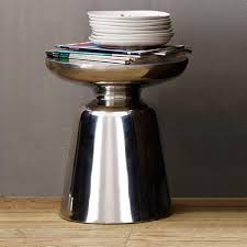 martini side table metallics west elm uk