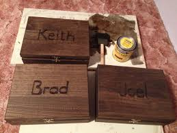 wooden groomsmen gifts our fall wedding groomsmen gift boxes diy wood boxes wood