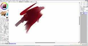 paint tool sai brush tutorial youtube