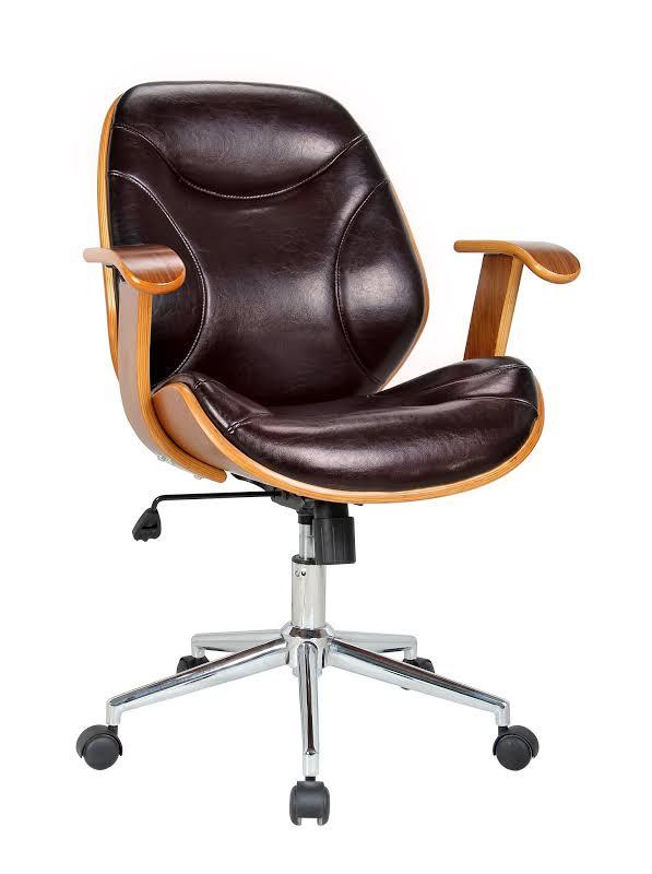 Boraam Rigdom Office Chair In Brown