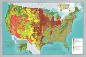 Atlas Map Of The United States by The National Atlas
